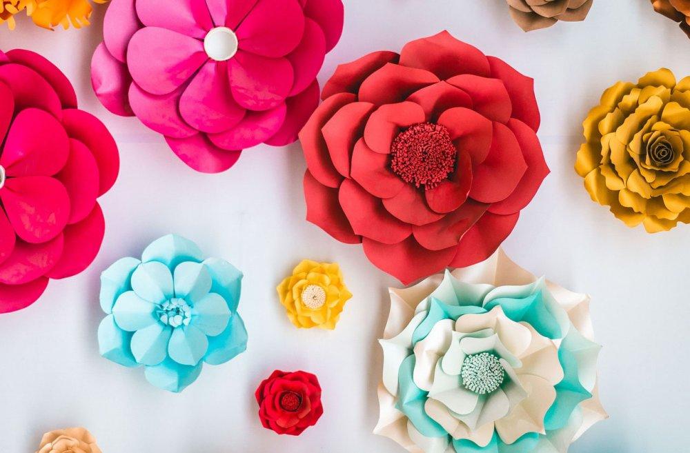 Cách làm hoa giấy nghệ thuật đơn giản, bạn nên đọc