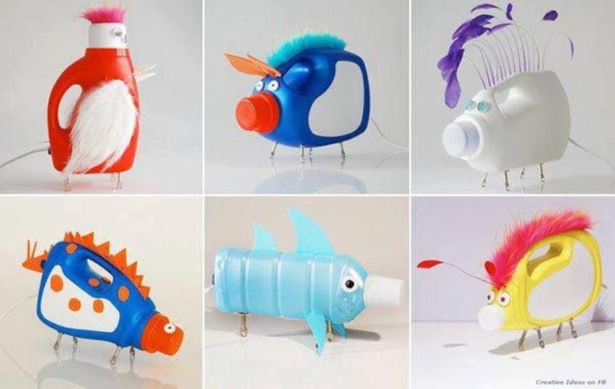 Cách tái chế chai nhựa mà bạn có thể dễ dàng thực hiện, thử ngay nào