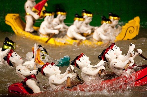 Múa rối nước - loại hình văn hóa truyền thống của Việt Nam