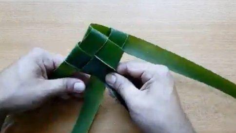 Những chiếc lá dừa đã tạo nên tuổi thơ của chúng ta, bạn có nghĩ vậy?