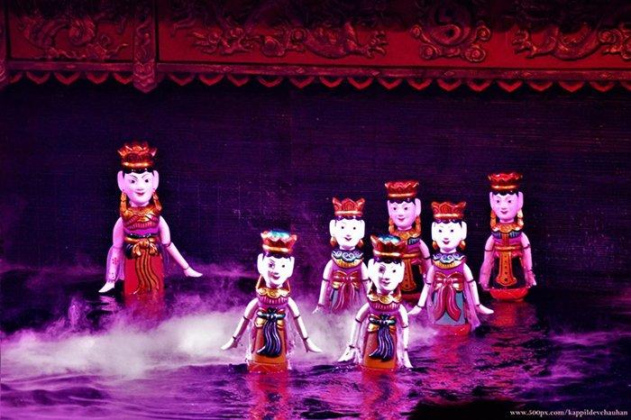 Tìm hiểu về nghệ thuật múa rối nước