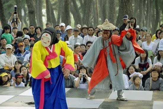 Nghệ thuật múa mặt nạ tại Hàn Quốc