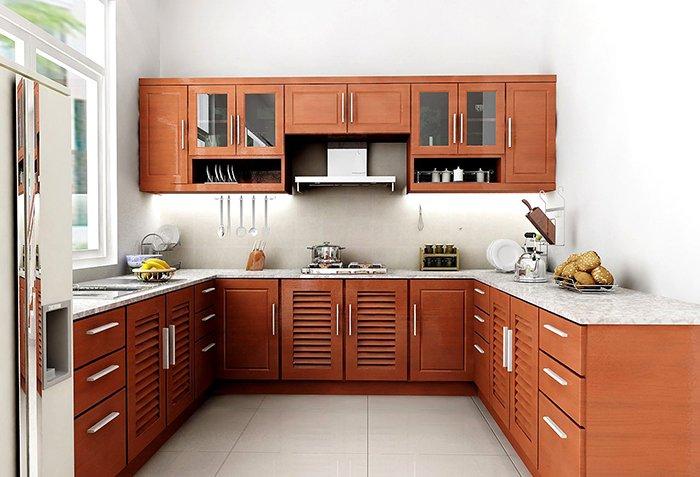 Bật mí những mẫu thiết kế nội thất phòng bếp mới nhất 2021