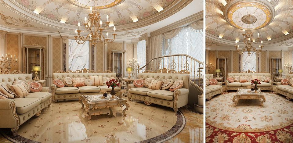Kiến thức] Thiết kế nội thất cổ điển là gì? - Nội thất V-Home