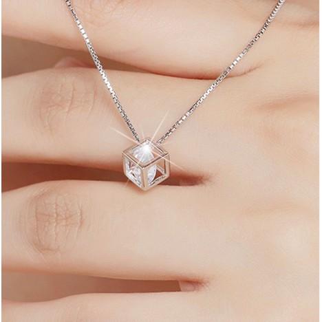 Dây chuyền bạc 925 Ý nữ phong cách Hàn Quốc sale CÓ ẢNH THẬT | Shopee Việt Nam