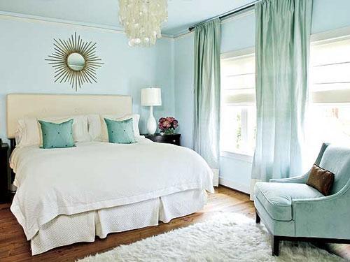 6 lưu ý khi chọn màu sơn cho phòng ngủ