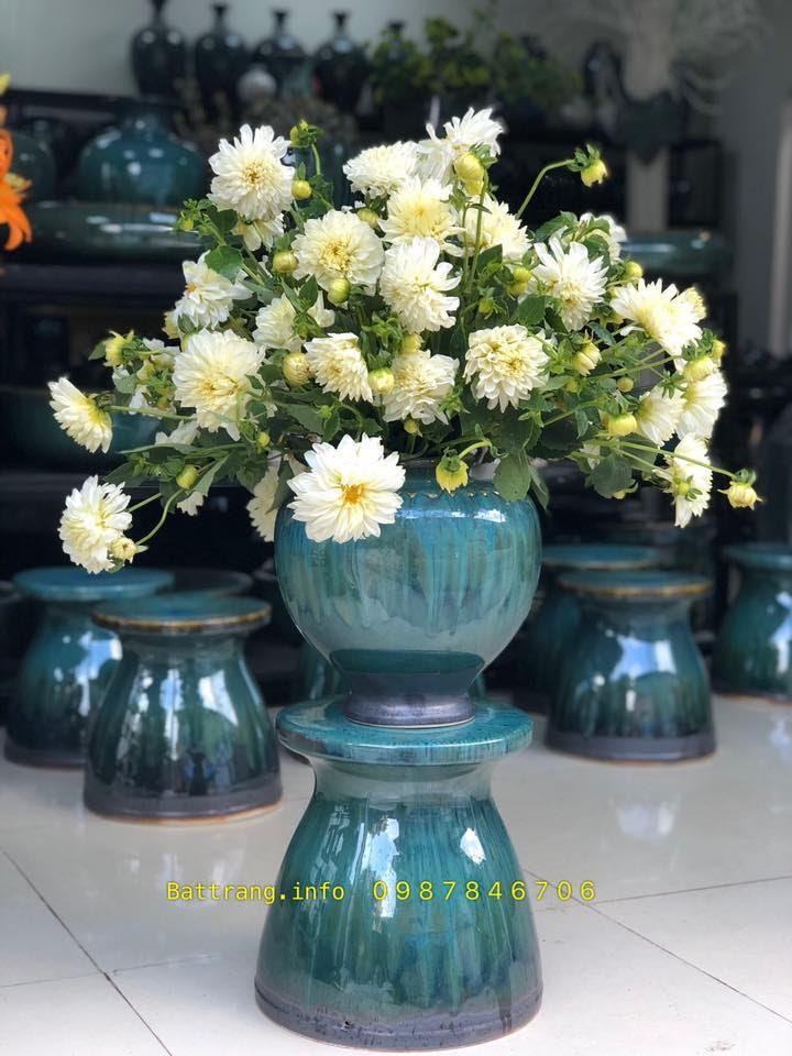 Lọ hoa gốm sứ Bát Tràng