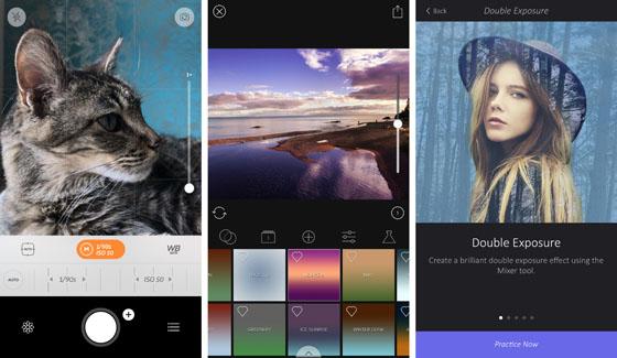 Ứng dụng chụp ảnh đẹp trên iPhone (bản 2017)