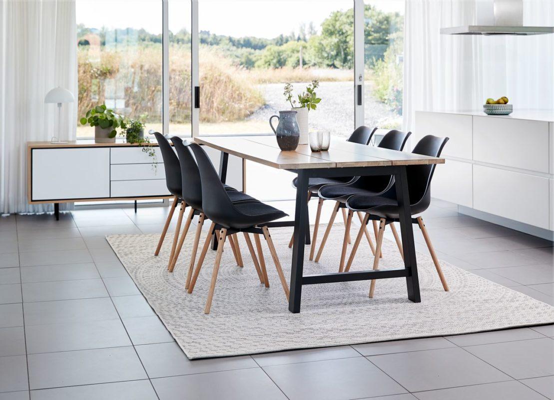 Sử dụng chất liệu gỗ tự nhiên trong phong cách Scandinavian
