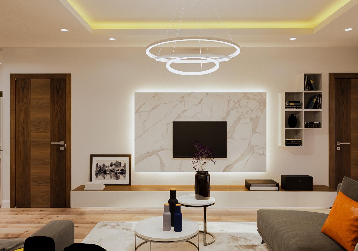 Hiệu ứng ánh sáng trong thiết kế nội thất hiện đại - Công ty Thiết kế & Thi  công Nội thất Trọn Gói Byzan – Uy tín, Chuyên nghiệp