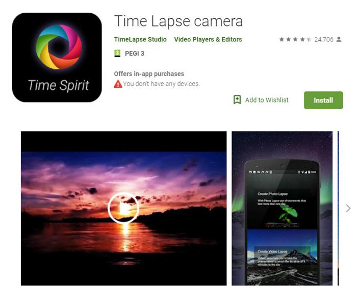 10 App quay Time Lapse Android và iOS tốt nhất - Xù Concept