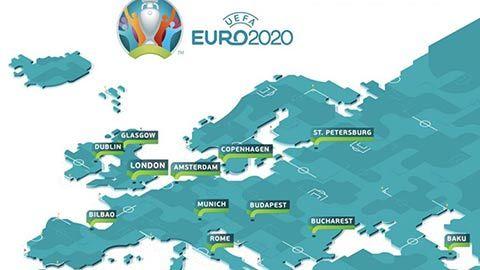 EURO 2021 và trái bóng lăn qua 12 quốc gia