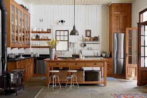 Thiết kế phong cách Rustic và linh hồn của gỗ