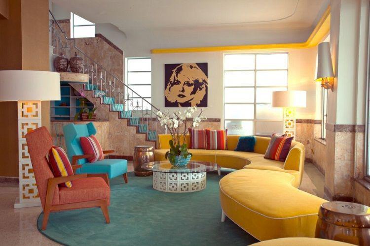 Loạt mẫu nhà phong cách nội thất retro vintage đẹp không rời mắt