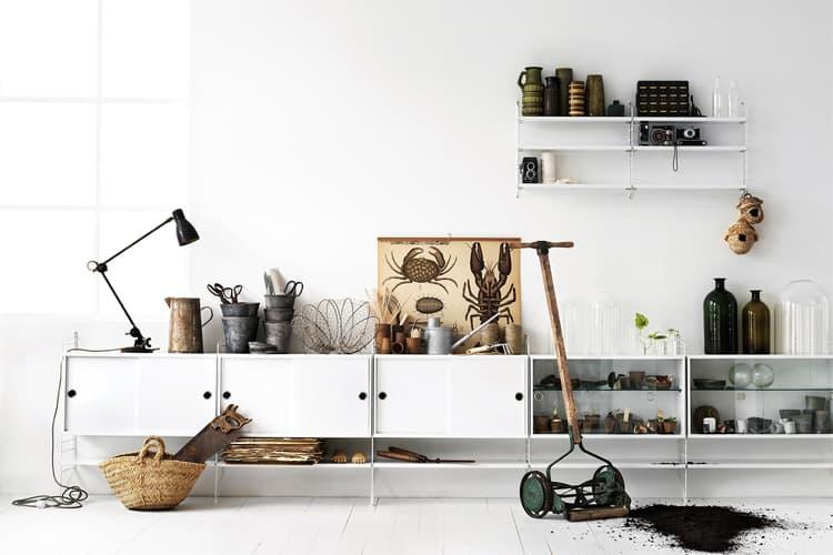 Các vật liệu tự nhiên rất được ưa chuộng trong phong cách Scandinavian