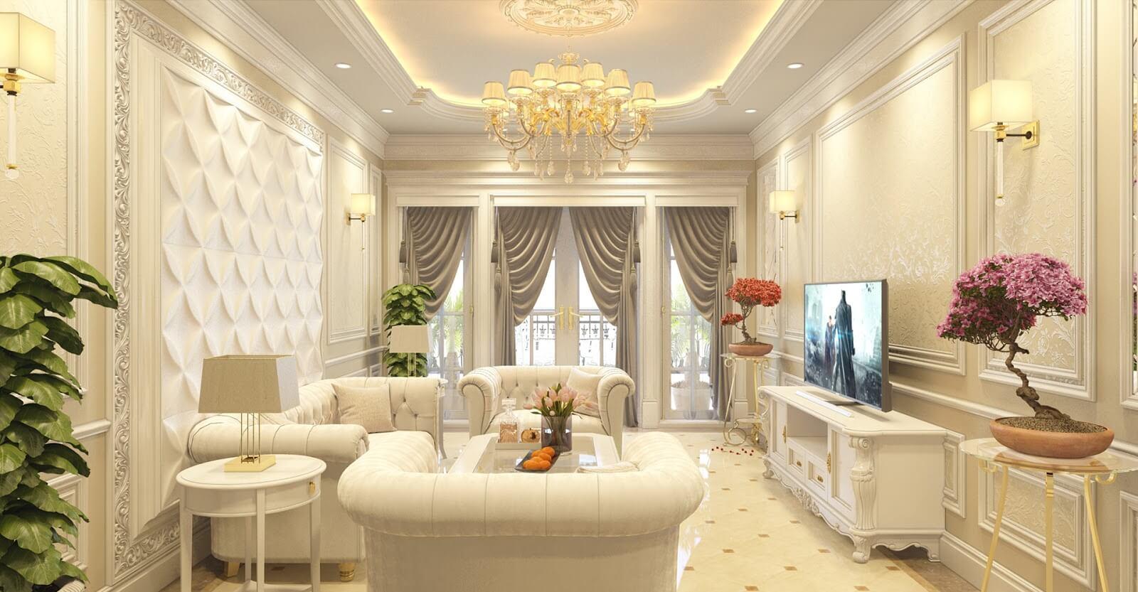 Phong cách thiết kế nội thất tân cổ điển - Housedesign