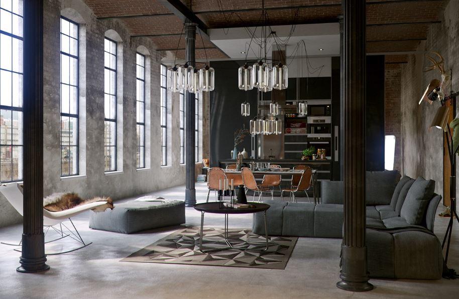 Tìm hiểu về phong cách thiết kế nội thất industrial - Nội Thất Hòa Phát