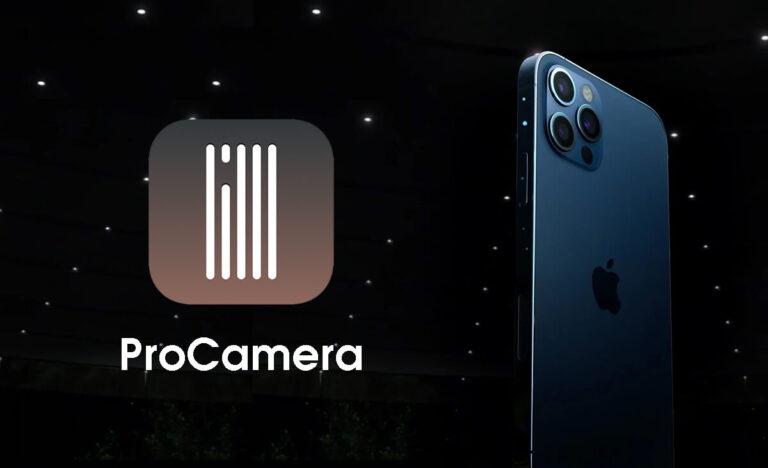 ProCamera - trình chụp ảnh, quay phim, chỉnh sửa chuyên nghiệp trên điện  thoại - Ứng dụng Mobile